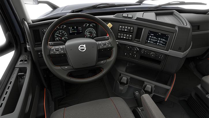 Truck Cab Inside >> Diseño de interior de Volvo VNL | Volvo Trucks EE. UU.